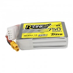 Tattu R-Line 3S 750mAh 95C Lipo Battery (XT30)