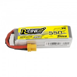 Tattu R-Line 3S 550mAh 95C Lipo Battery (XT30)