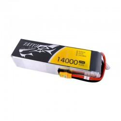 Batterie Lipo Tattu 6S 14000mAh 25C XT90