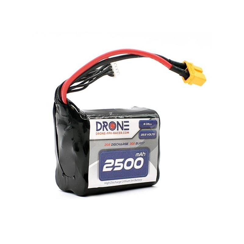 Pack Li-Ion 2500mah 6S1P XT60