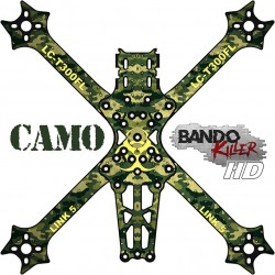 Stickers for Bando Killer HD Camo frame