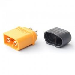 Connecteur protégé XT-60 OR Haute Qualité Mâle
