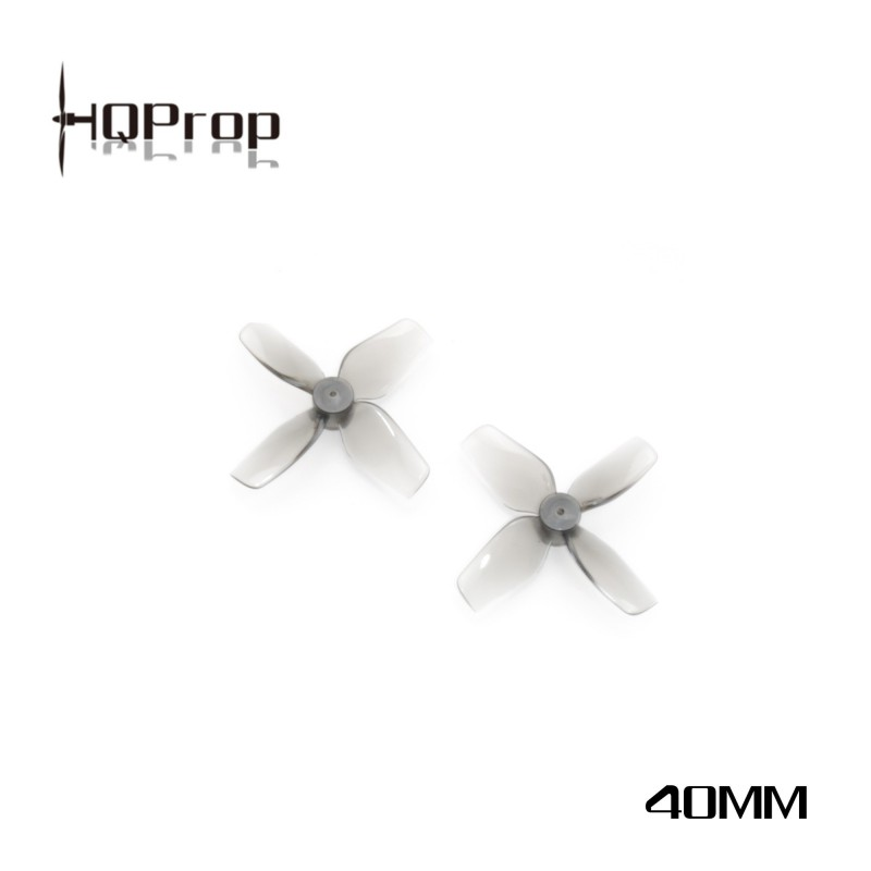 HQProp Micro Whoop 40MMX4 PC - 1.5mm Shaft (2xCW + 2xCCW)