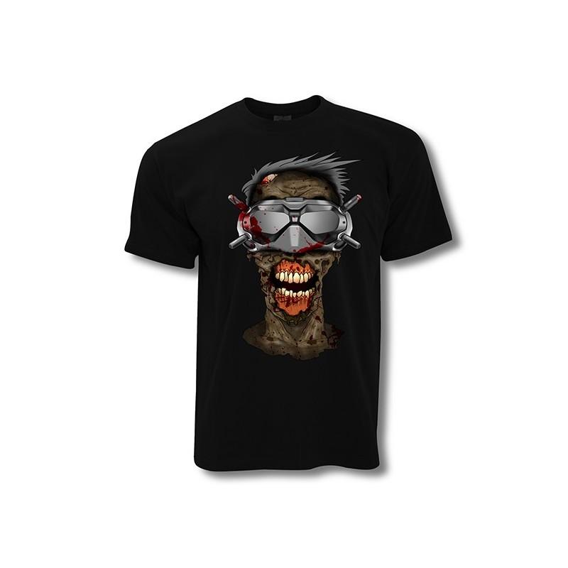 VISU T-Shirt Zondji grey