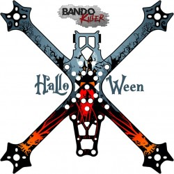 Stickers for Bando Killer Halloween frame