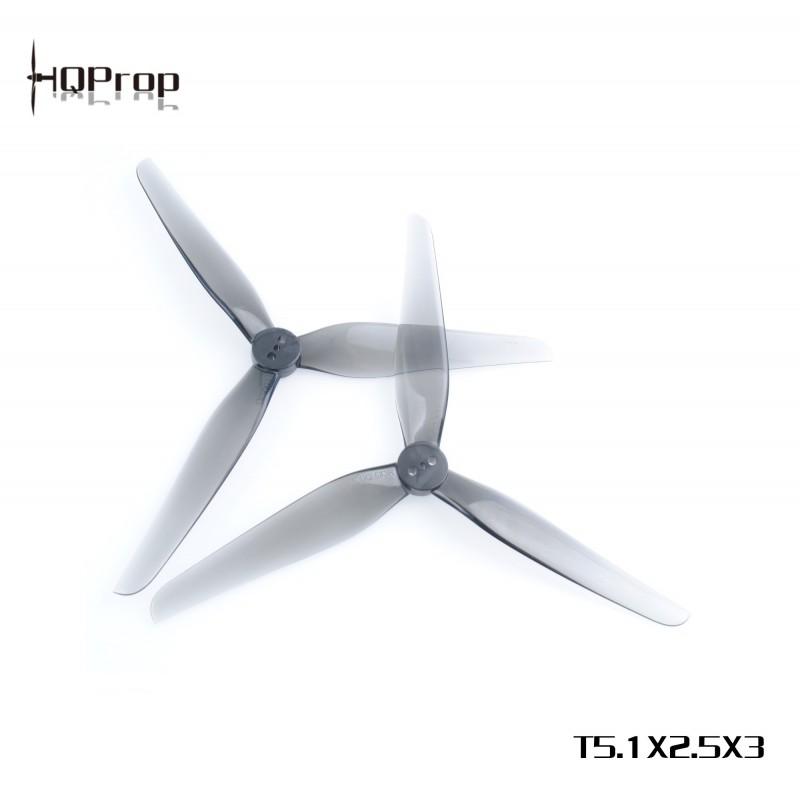 HQProp T5.1x2.5x3 - PC  (2xCW + 2xCCW)