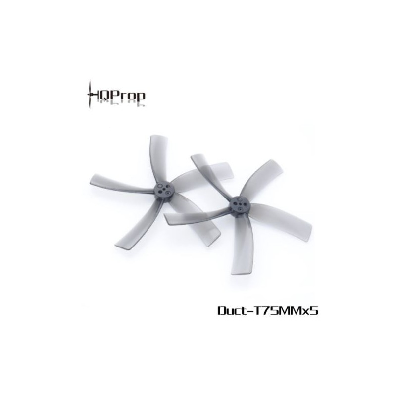 HQProp Duct-T75MMX5 pour Cinewhoop - PC (2CW+2CCW)