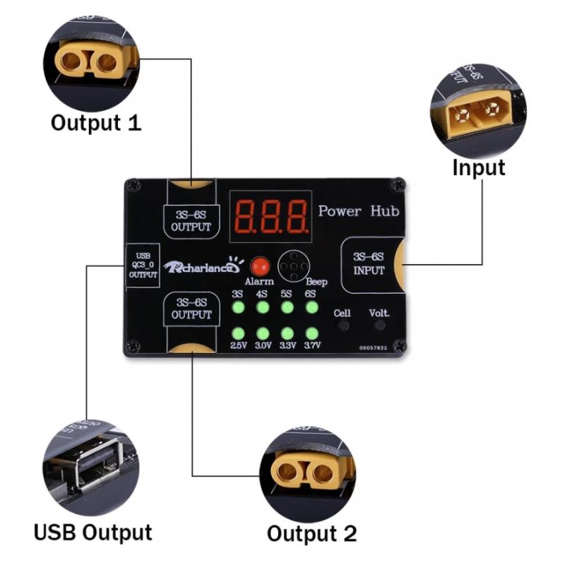 Power Hub XT60