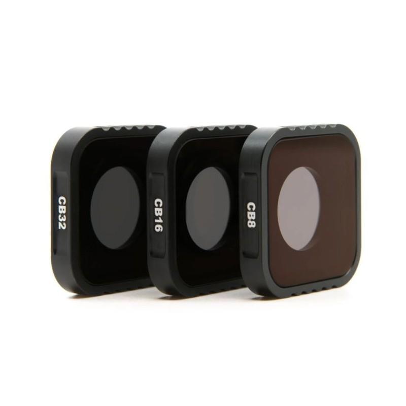 Set de Filtres ND 8/16/32 pour GoPro Hero 9
