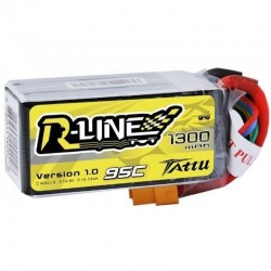 Tattu R-Line 4S 1300mAh 95C Lipo Battery