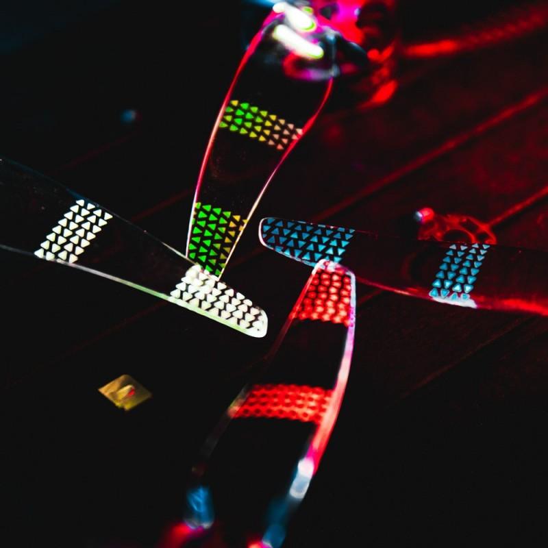 Hélices LED Gemfan Moonlight (set de 4)