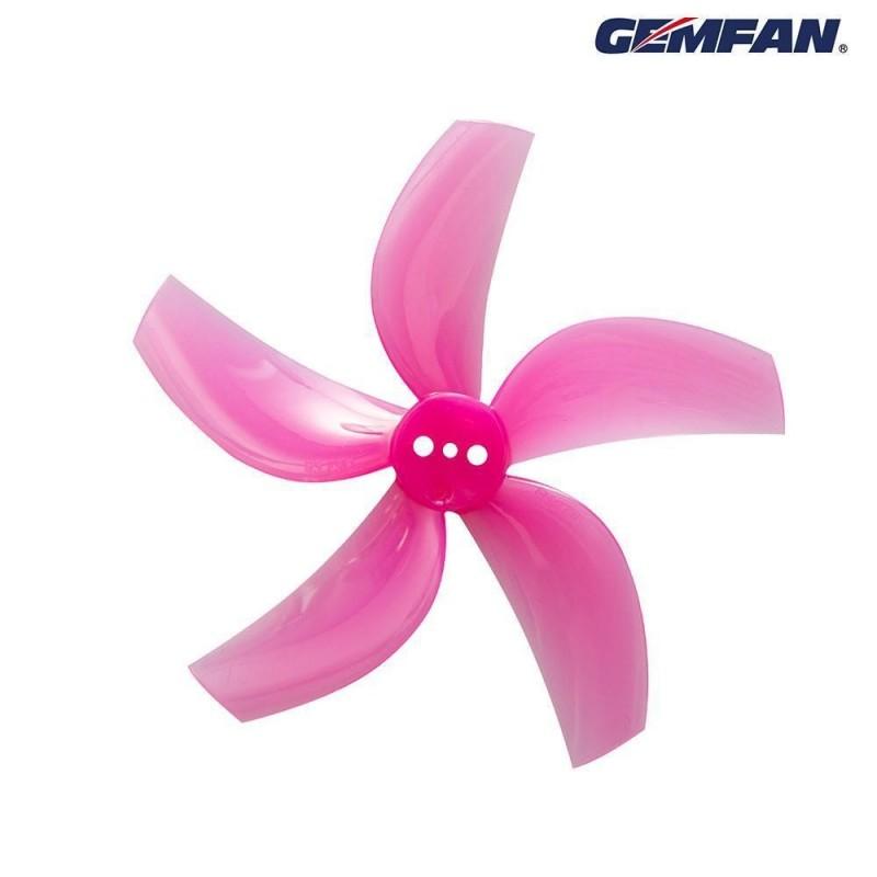 """Gemfan hélices D63-5 (2.5"""") Cinewhoop (set de 8)"""