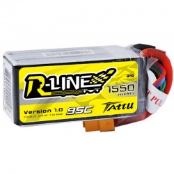 Tattu R-Line 4S 1550mAh 95C Lipo Battery