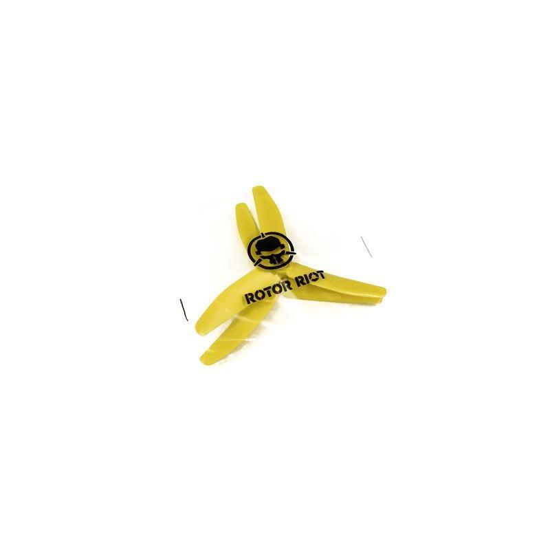 HQProp Rotor Riot 5x4x3 renforcées fibres (4 pces) -2x CW + 2xCCW