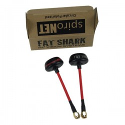 Antennes SpiroNet ImmersionRC 5.8GHz RHCP - SMA