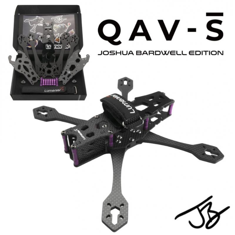 "Lumenier QAV-S Joshua Bardwell Special Edition 5"" Freestyle Frame"