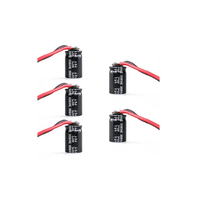 Flywoo - Condensateur RUBYCON 470UF 35V ZLH (5pcs)