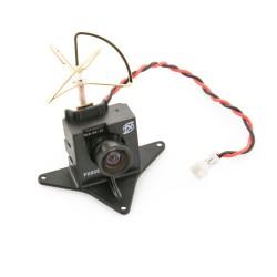 FX805 Micro FPV Caméra & émetteur 5.8GHz 40CH 25mW avec support de montage