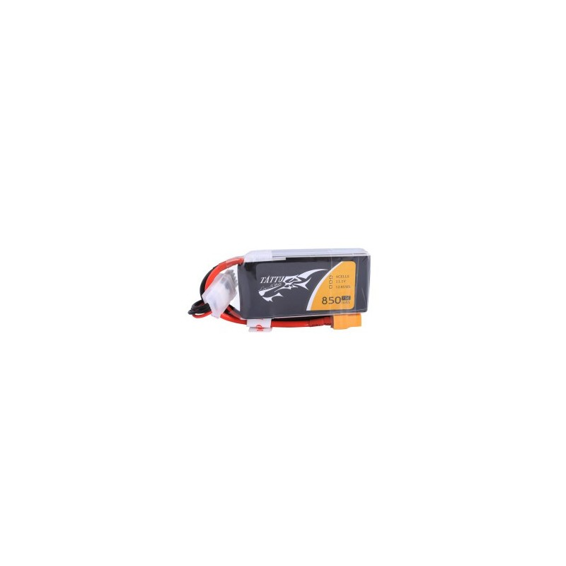Tattu 4S 850mAh 75C Lipo Battery (XT30)