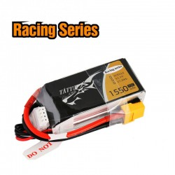 Batterie Lipo Tattu 3S 1550mAh 75C - Racing Series