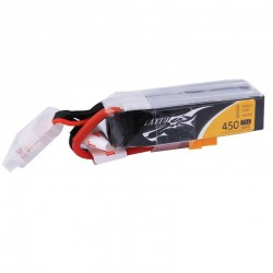 Batterie Lipo Tattu 4S 450mAh 75C (XT30) - Long Size