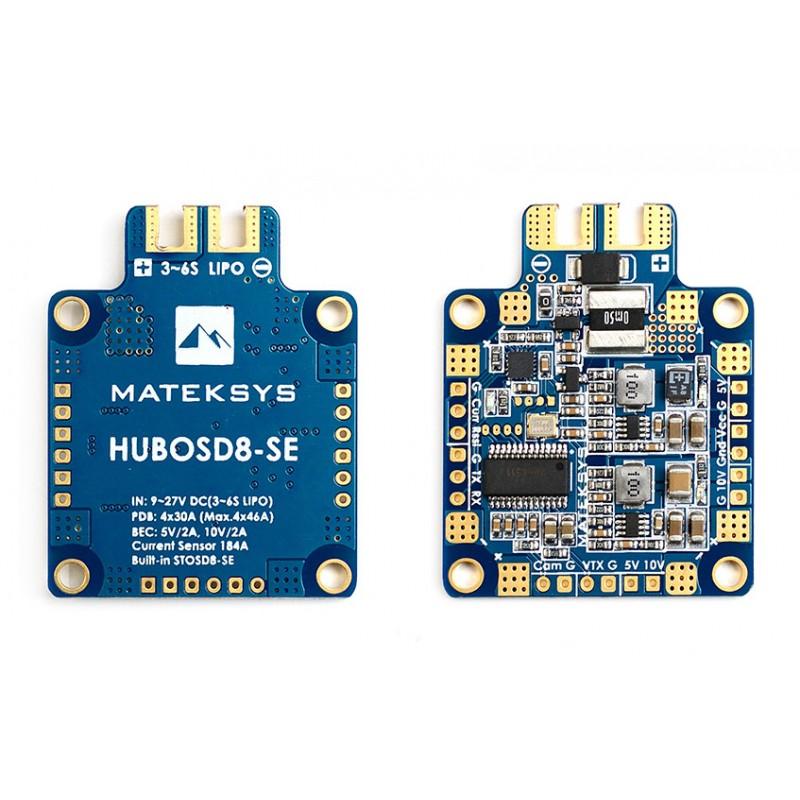 OSD Matek HUBOSD8-SE - 184A - 6S MAX