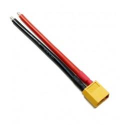 Cable XT60 mâle 12AWG - 10cm