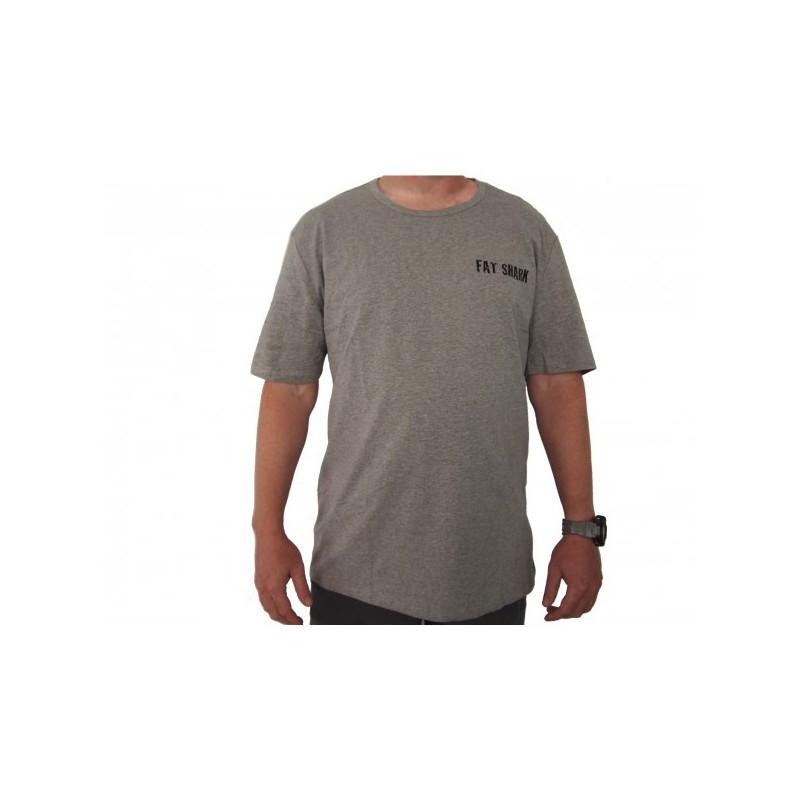 Fat Shark T-Shirt Gris