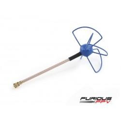 Antenne Furious FPV U.FL - RHCP - Bleue
