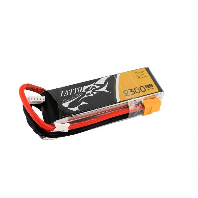 Tattu 4S 2300mAh 45C Lipo Battery