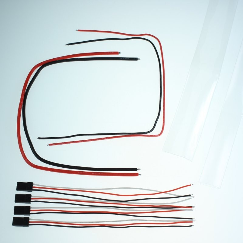 Set of cables and sheaths for ESC