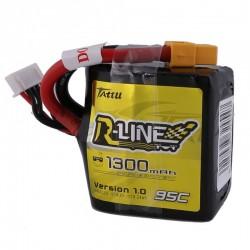 Tattu R-Line - SQUARE - 4S 1300mAh 95C