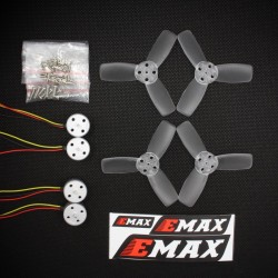 Combo Emax RS1104 - 5250kv + hélices T2345 (8pcs)