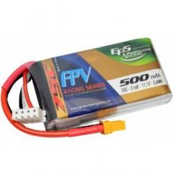 Batterie Lipo EPS 3S 500mAh 75C