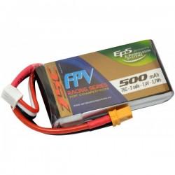 Batterie Lipo EPS 2S 500mAh 75C