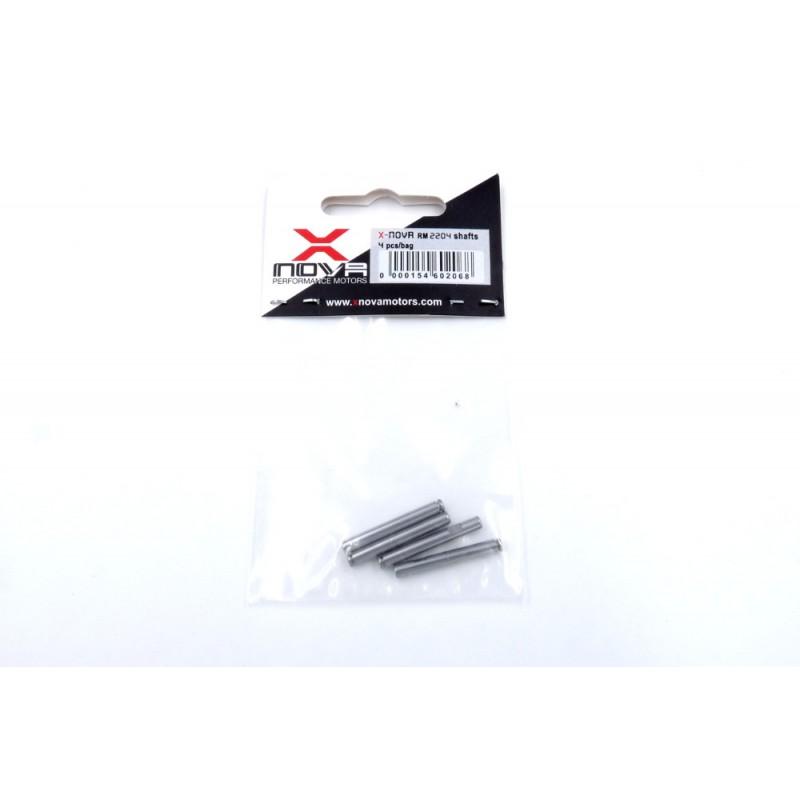 XNOVA RM2204 Motor Shaft (4pces)