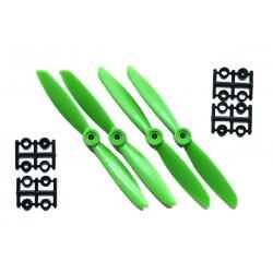 Hélices HQProp 6x3 renforcées fibres (4 pces) -2x CW + 2xCCW