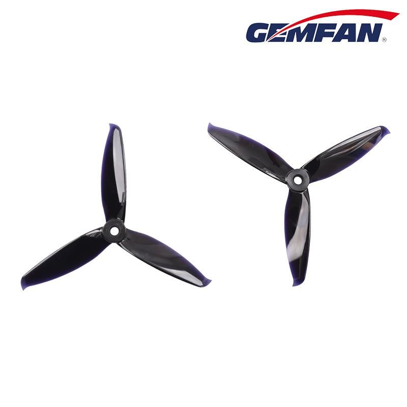Gemfan 5152 - 3 Blade Propeller - Black PC (Set of 4)
