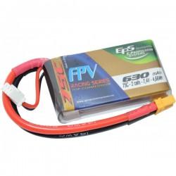 Batterie Lipo EPS 2S 630mAh 75C