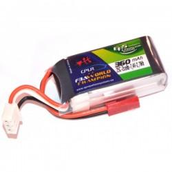 Batterie Lipo EPS 2S 360mAh 25C