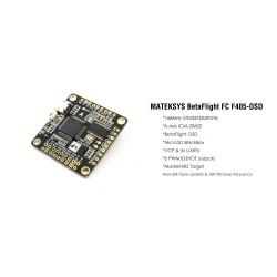 Matek Flight Controller F405-OSD