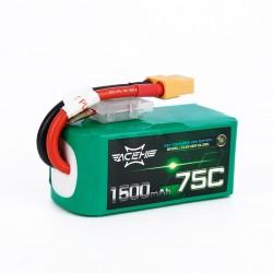 Batterie Lipo Acehe 4S 1500mAh 75C