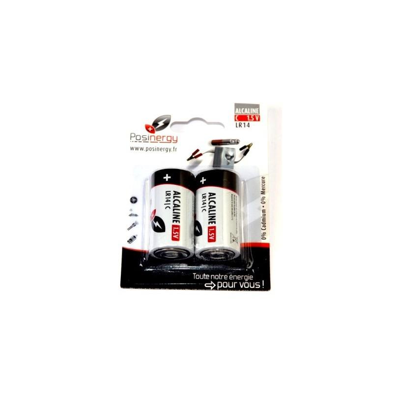 Pile alcaline LR14 x2