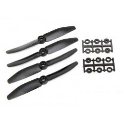 HQPROP fiber reinforced 5x4.5 Propellers (4 pces) -2X CW + 2XCCW