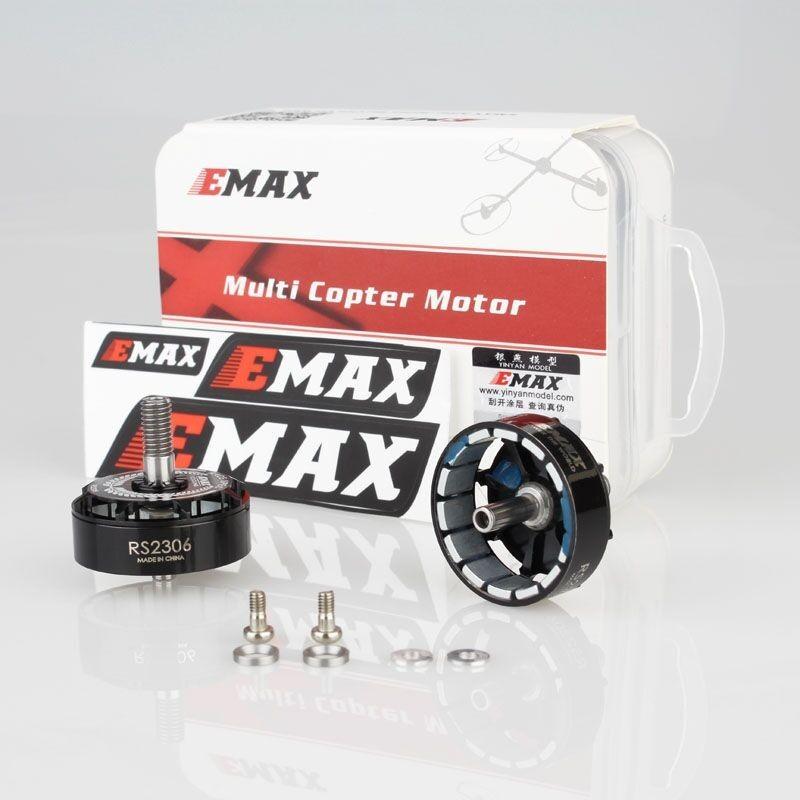 Cloches pour Moteur Emax RS2306 - Black Edition