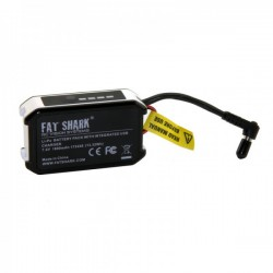 Batterie Lipo Fatshark 1800mAh 2S avec prise USB