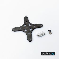 AstroX Plaque de renfort 2mm + Visserie TrueXS