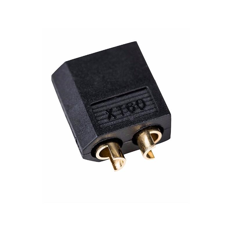 XT-60 Male BLACK Connector