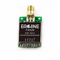 Eachine TX526 5.8Ghz - 40CH - Switchable - RPSMA