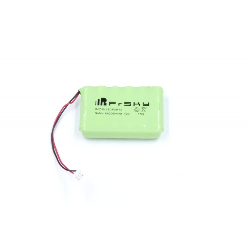 NiMh Battery Pack for FrSky Taranis Q X7 Radio